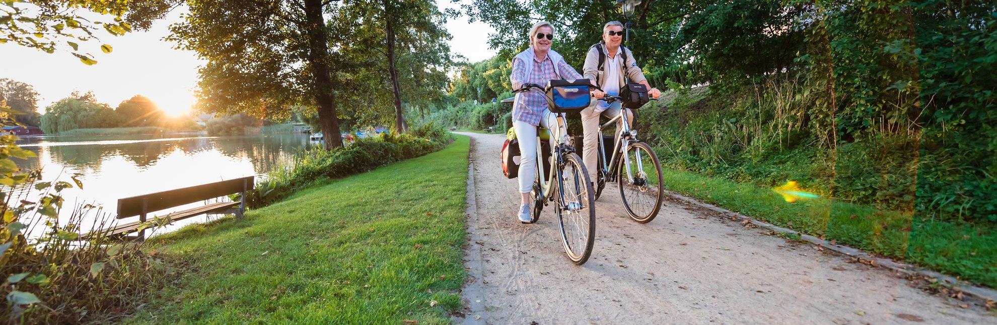Radtour am Salemer See, © Markus Tiemann / HLMS GmbH