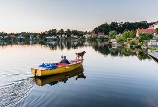 Bootstour auf dem Möllner Stadtsee, © Markus Tiemann / HLMS GmbH
