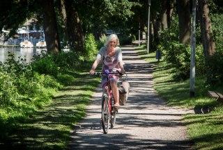 Radlerin Domsee, © Tourist-Info Ratzeburg
