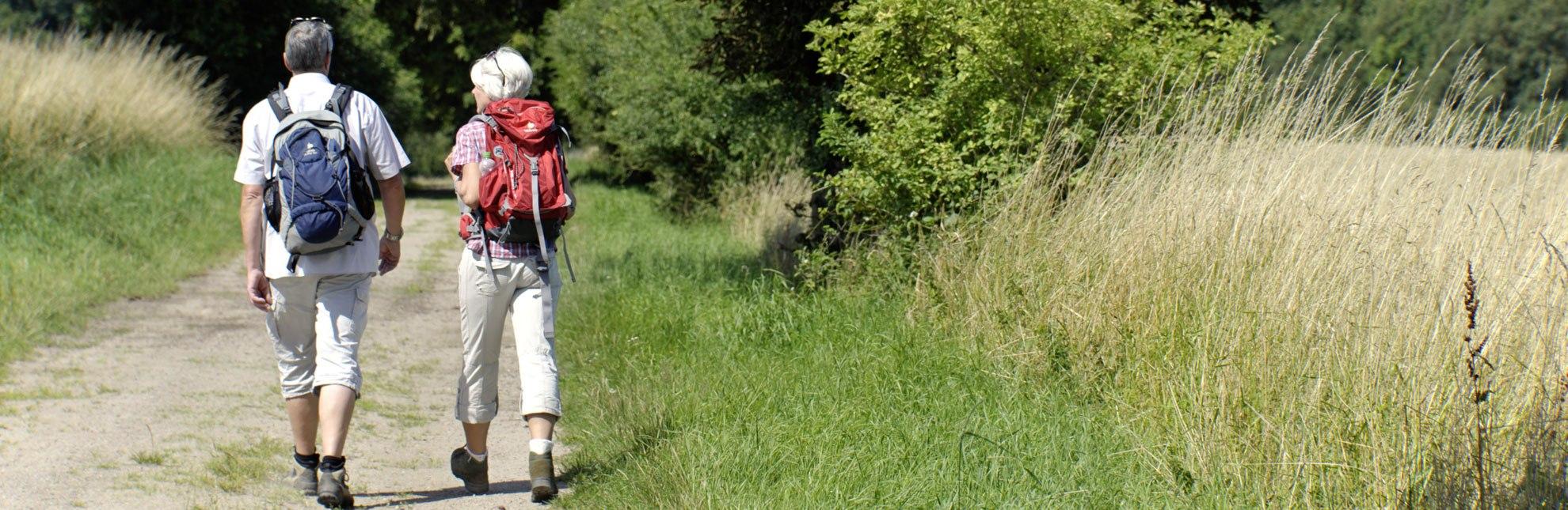 Wandern zwischen den Wiesen, Seen und Wäldern des Naturparks Lauenburgische Seen., © photocompany GmbH / HLMS GmbH