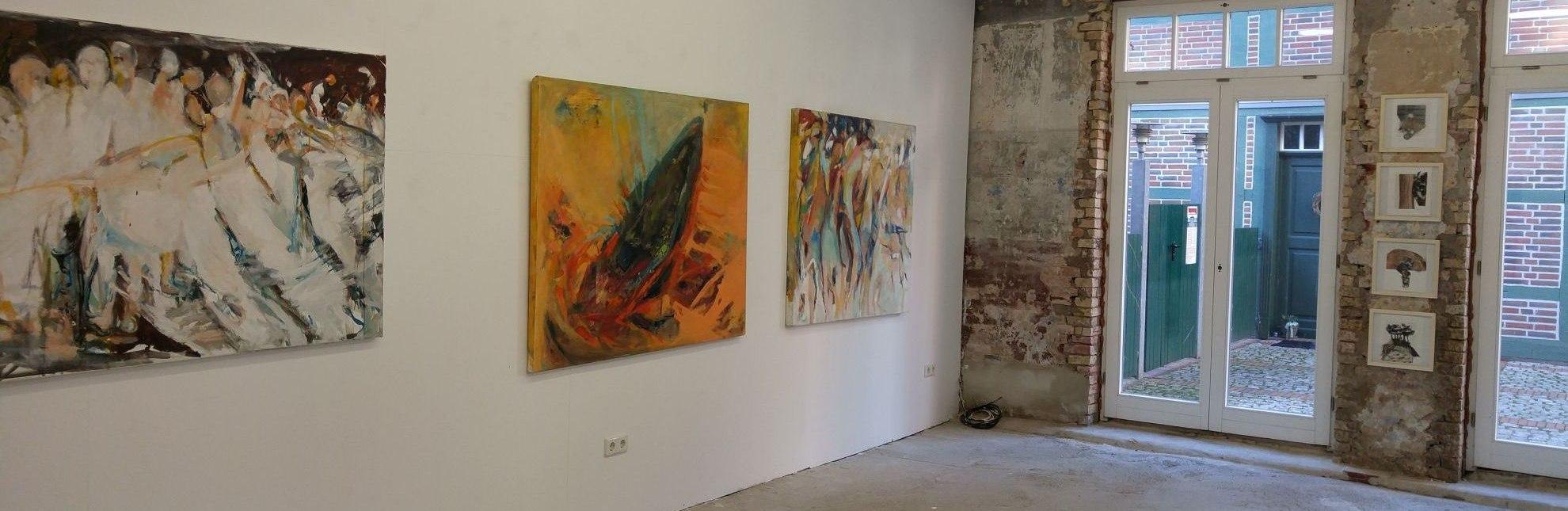 Ausstellung in der Stadtgalerie Lauenburg, © Eva Ammermann