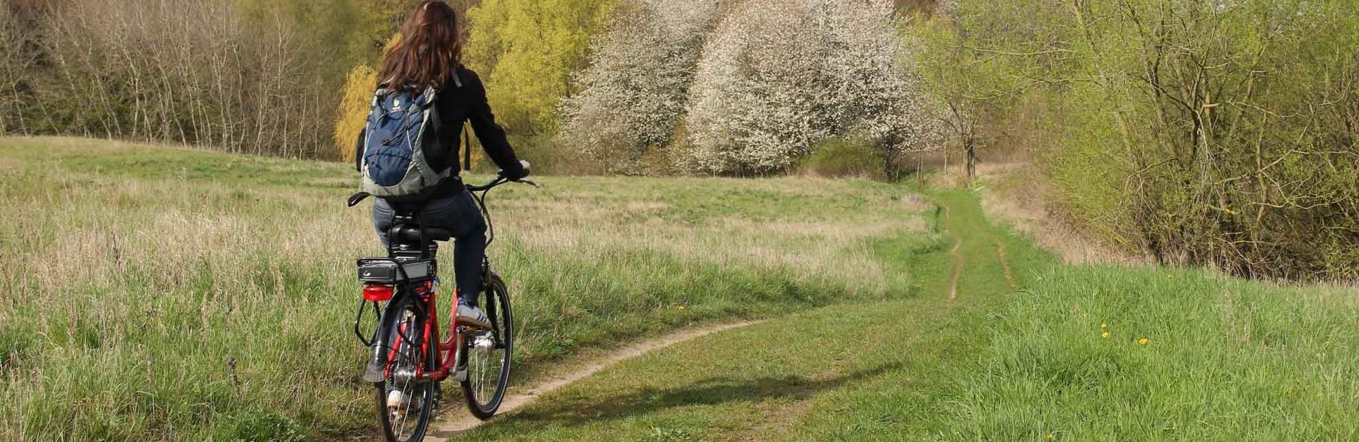 Mit dem Fahrrad auf der Städtetour zwischen Ratzeburg und Mölln, © Carina Jahnke/ HLMS