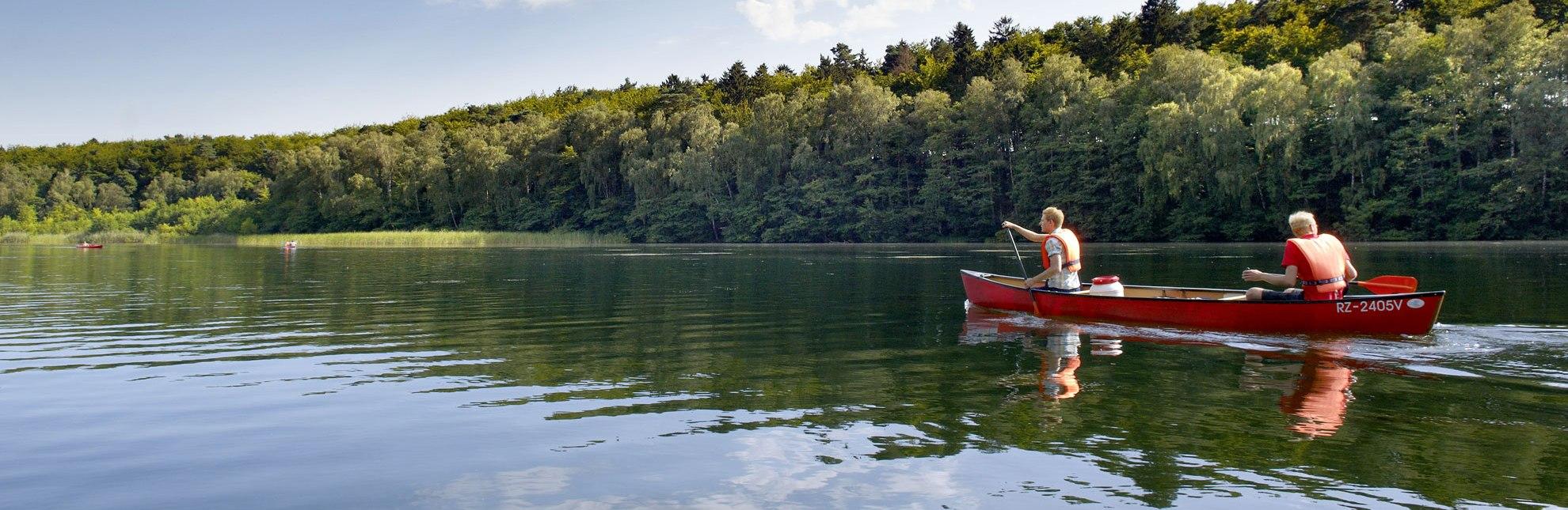 Kanu fahren auf dem Pipersee, © photocompany GmbH
