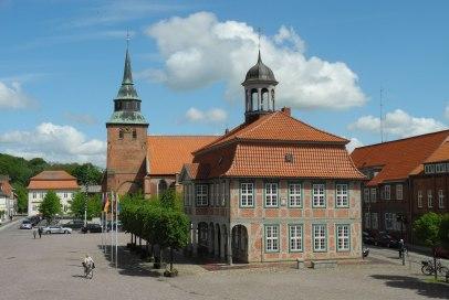 Das Rathaus in Boizenburg an der Elbe, © Stadtinformation Boizenburg/Elbe