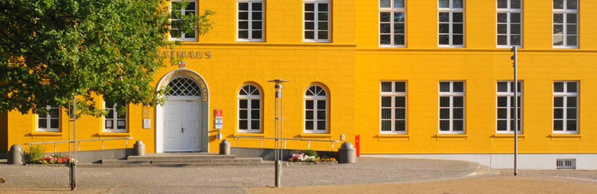 Rathaus Ratzeburg mit Touristinformation, © Tourist-Information Ratzeburg