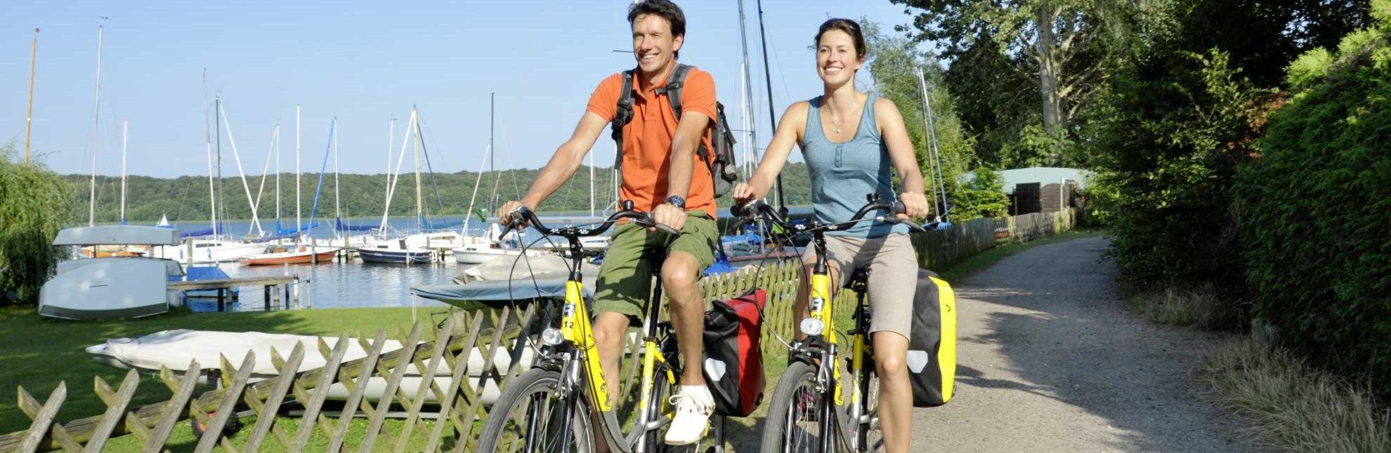 Unterwegs auf der Seenradtour, © photocompany/ HLMS