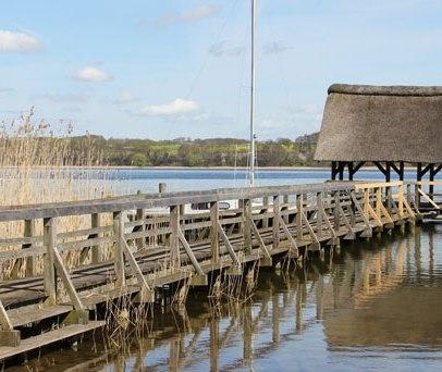 Der Steg in Buchholz am Westufer des Ratzeburger Sees., © Carina Jahnke / HLMS GmbH