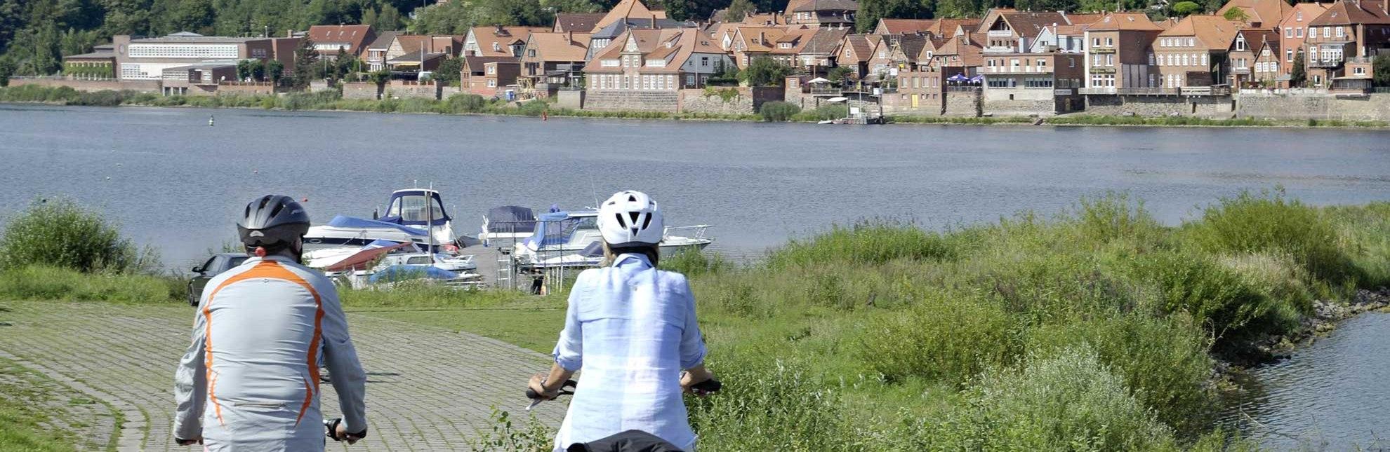 Rad fahren rund um Lauenburg an der Elbe, © photocompany/ Lauenburg