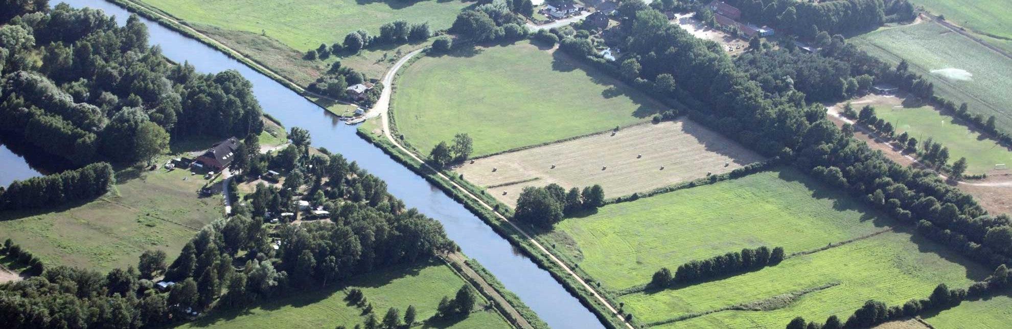 In Siebeneichen quert eine historische Seilzugfähre den Elbe-Lübeck-Kanal., © Wolfgang Buchhorn