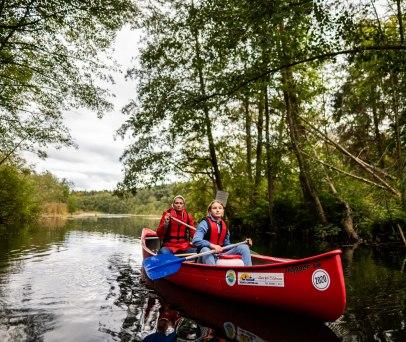 Herbstliche Kanutour auf den lauenburgischen Seen, © sh-tourismus.de/MOCANOX