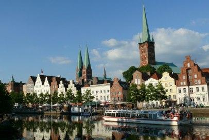 Blick auf die Hansestadt Lübeck, © K. Wessel - Metropolregion Hamburg