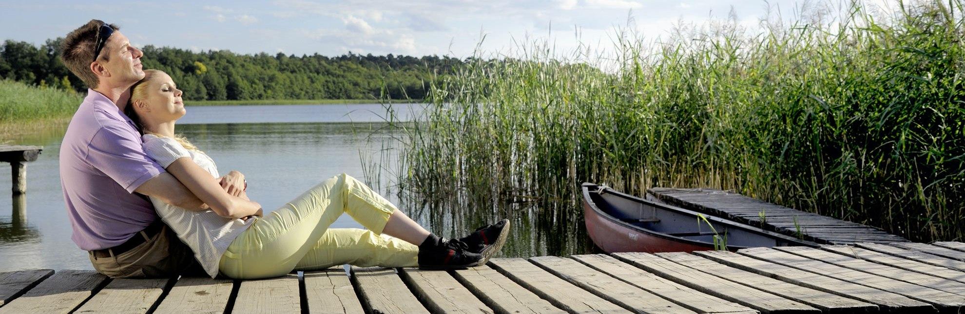 Zeit zu zweit: Gemeinsam die Romantik am Schaalsee genießen., © photocompany GmbH / HLMS GmbH