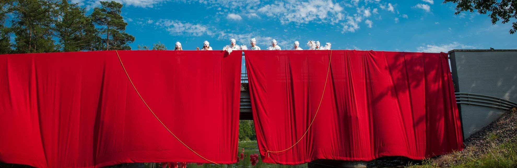 Kanuwandertheater und Kultursommer am Kanal, © Nicole Franke