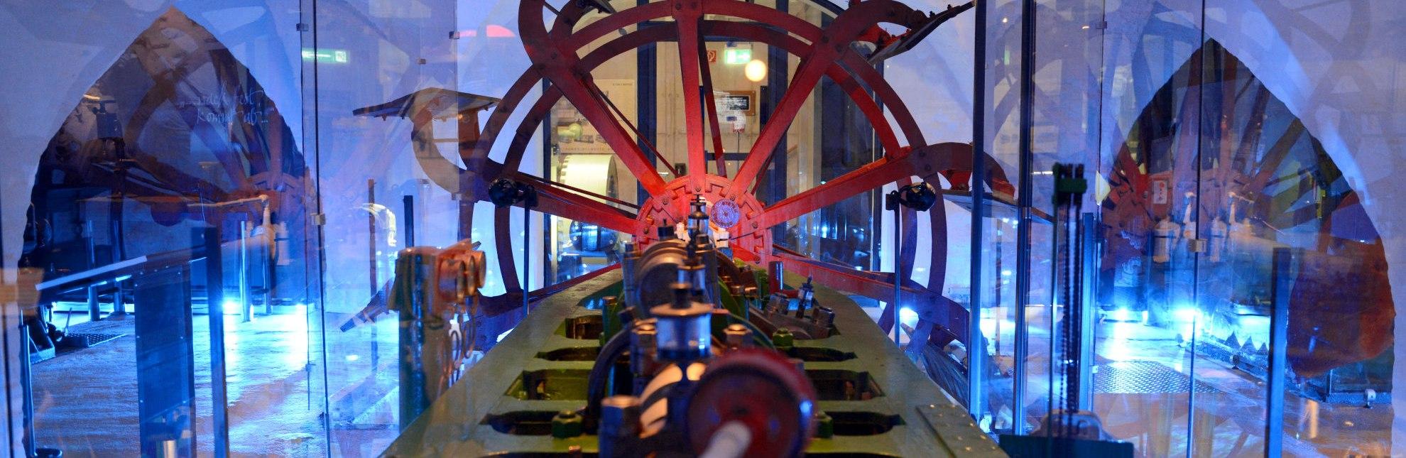 """Schiffsantriebe entdecken """"unter Deck"""" im Elbschifffahrtsmuseum Lauenburg/Elbe, © Uwe Franzen"""
