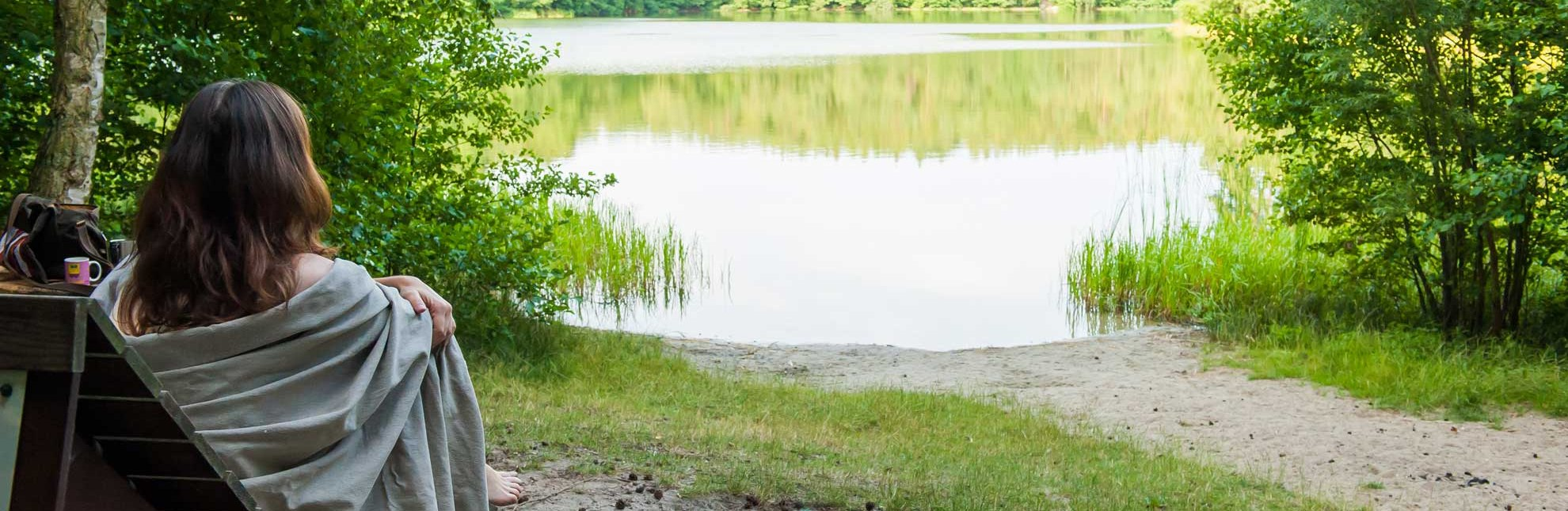 Das Waldsofa am Pinnsee ist ein idealer Ort für eine kleine Rast., © Nicole Franke / HLMS GmbH