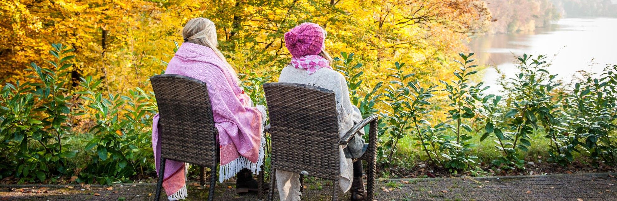 Herbstimpression mit Blick auf den Schmalsee, © Nicole Franke/HLMS