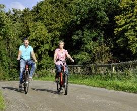 Radfahrer im Herzogtum Lauenburg, © photocompany GmbH