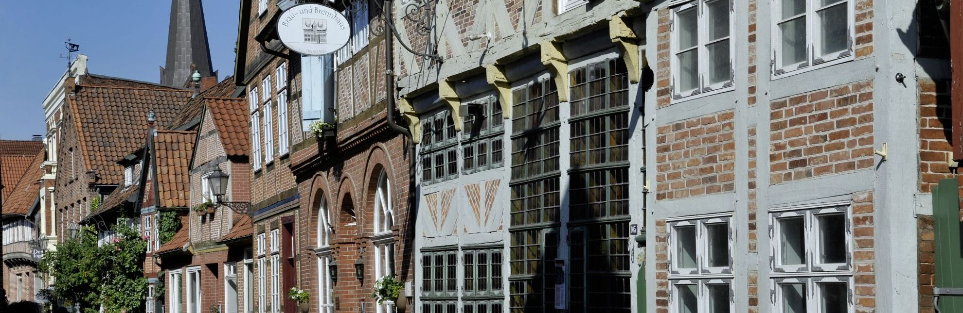 Fachwerkhäuser in der Lauenburger Altstadt, © photocompany