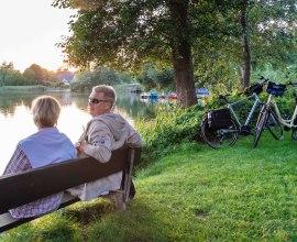 Rast am Salemer See, © Markus Tiemann/HLMS