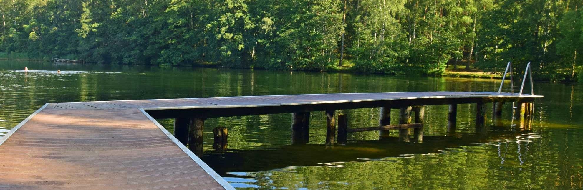 Steg am Pipersee, © Natascha Pätzold