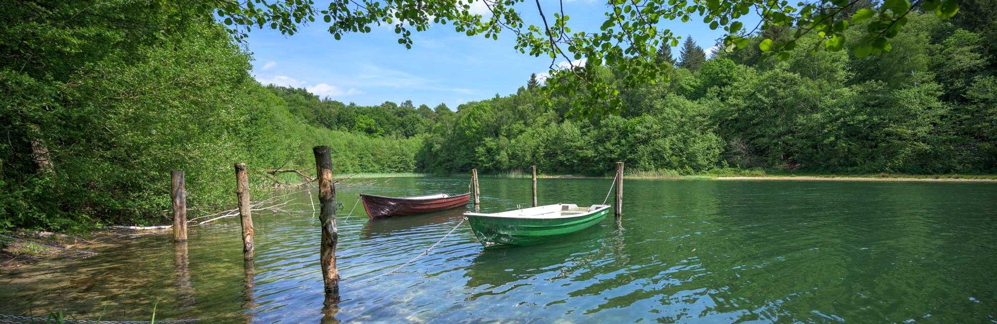 Nur für Eigentümer ist das Angeln auf dem Garrensee erlaubt., © Alex K. Media / HLMS GmbH