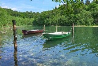 Nur die Eigentümer dürfen auf dem Garrrensee angeln., © Alex K. Media / HLMS GmbH