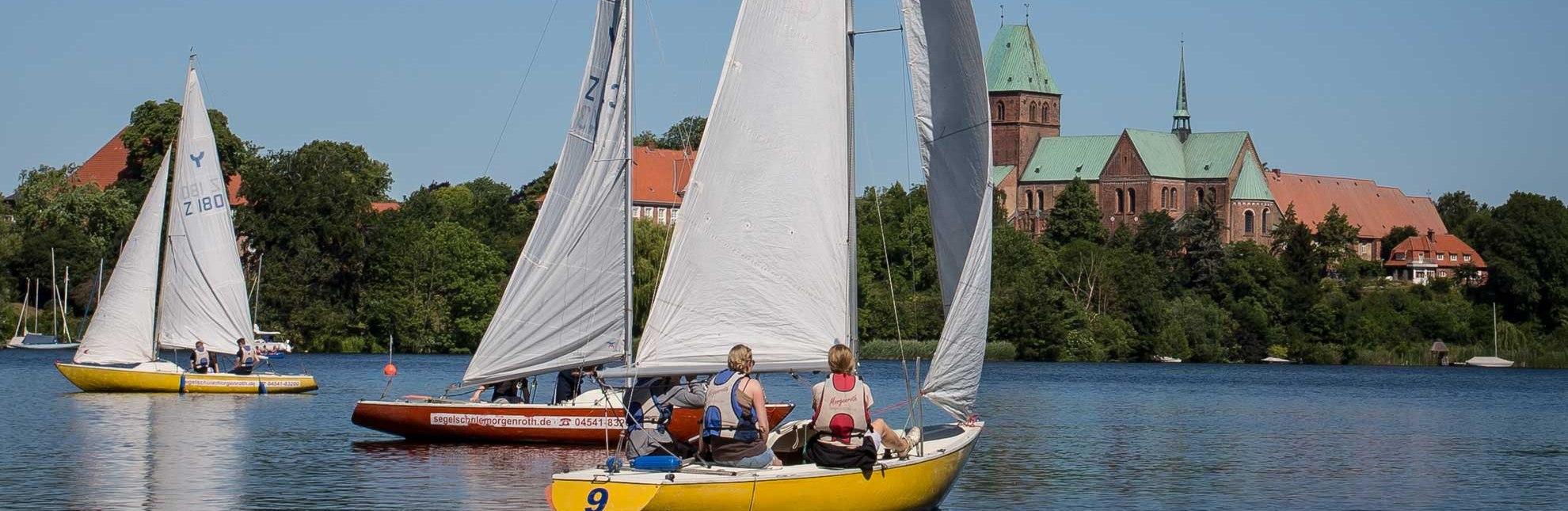 Segeln auf dem Ratzeburger See, © Jens Butz