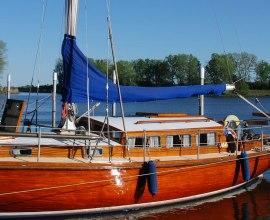 Hafen der Seglervereinigung Geesthacht mit Gastliegeplätzen, Elbe