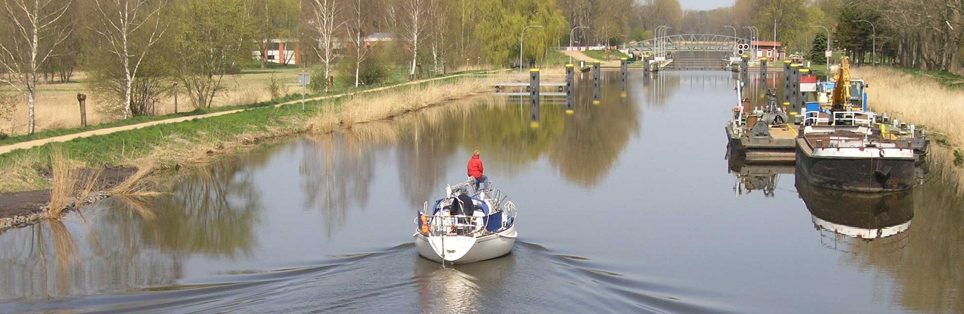 Elbe-Lübeck-Kanal bei Berkenthin, © HLMS