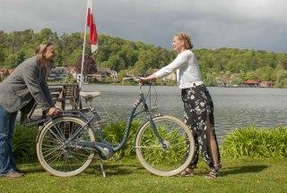 1,50 Meter sind ein Fahrrad, © Nicole Franke