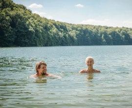 Genießen Sie eine kühle Erfrischung in einem der vielen Seen des Herzogtums Lauenburg., © Nicole Franke / HLMS GmbH