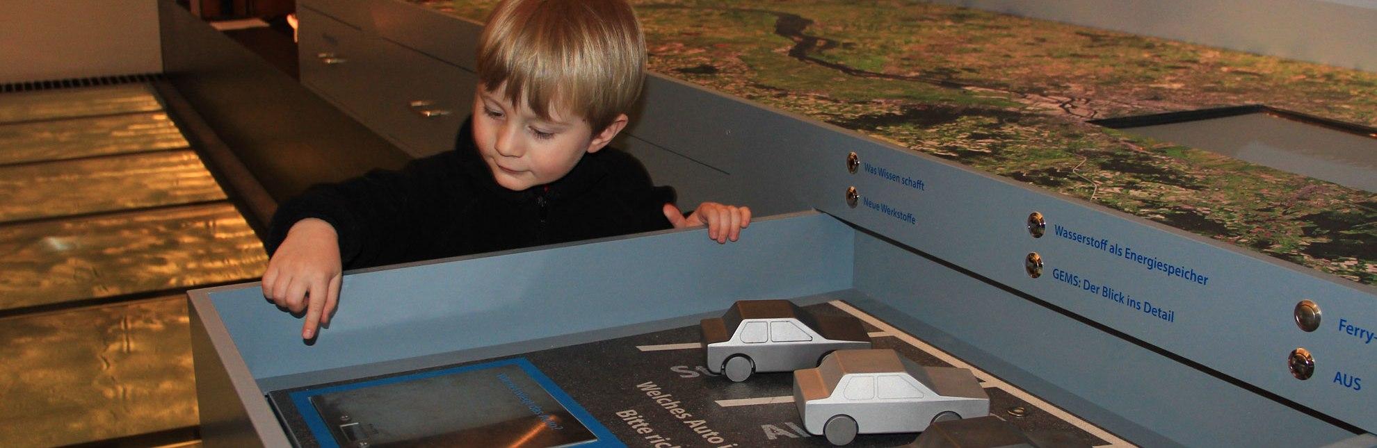 Versuchsanordnung in der interaktiven Dauerausstellung des GeesthachtMuseums!, © Tourist-Information Geesthacht
