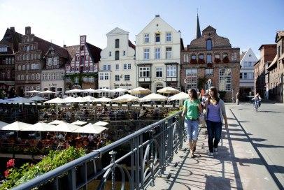 Das Hafenviertel der Hansestadt Lüneburg., © fotoimage.de - Metropolregion Hamburg