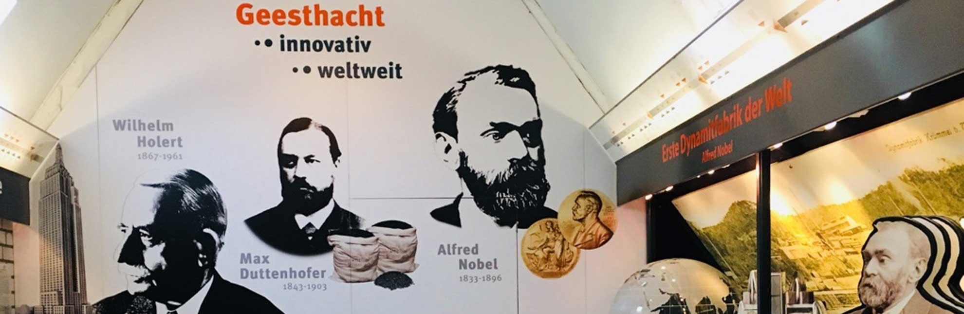 Krügersches Haus Museum Alfred Nobel, © Touristinformation Geesthacht