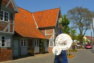 Ansicht vom Krügerschen Haus (Museum und Tourist-Information) im Frühling, © Tourist-Information Geesthacht
