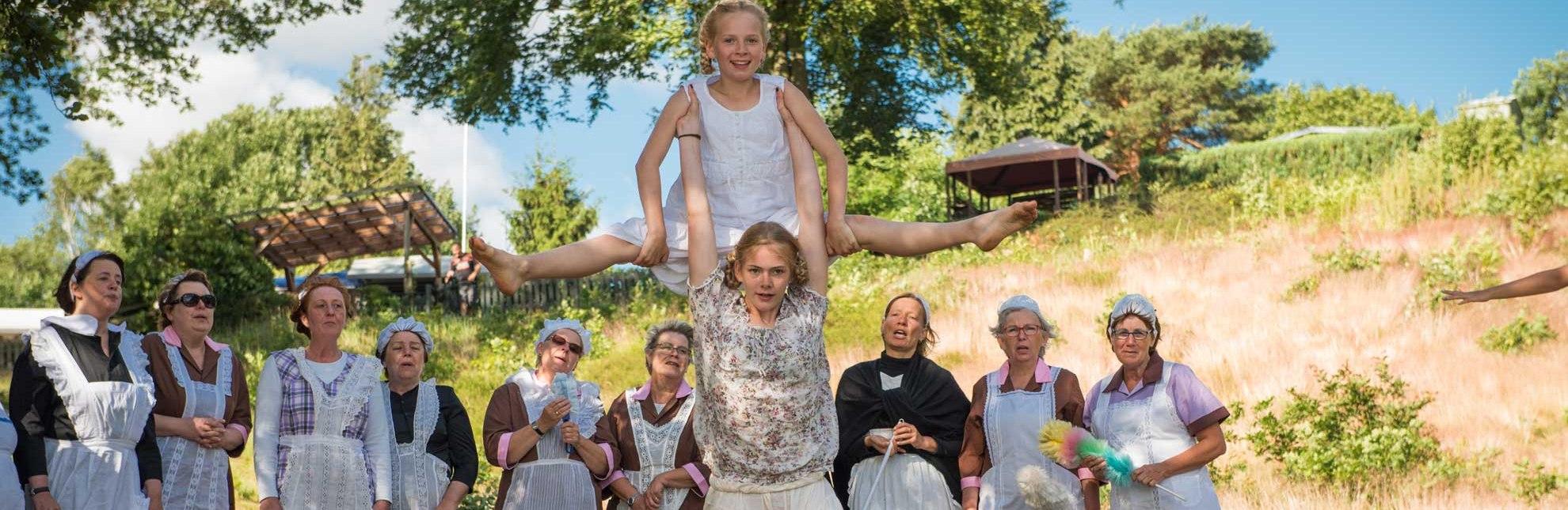 Kultursommer Kanuwandertheater, © Nicole Franke/ HLMS