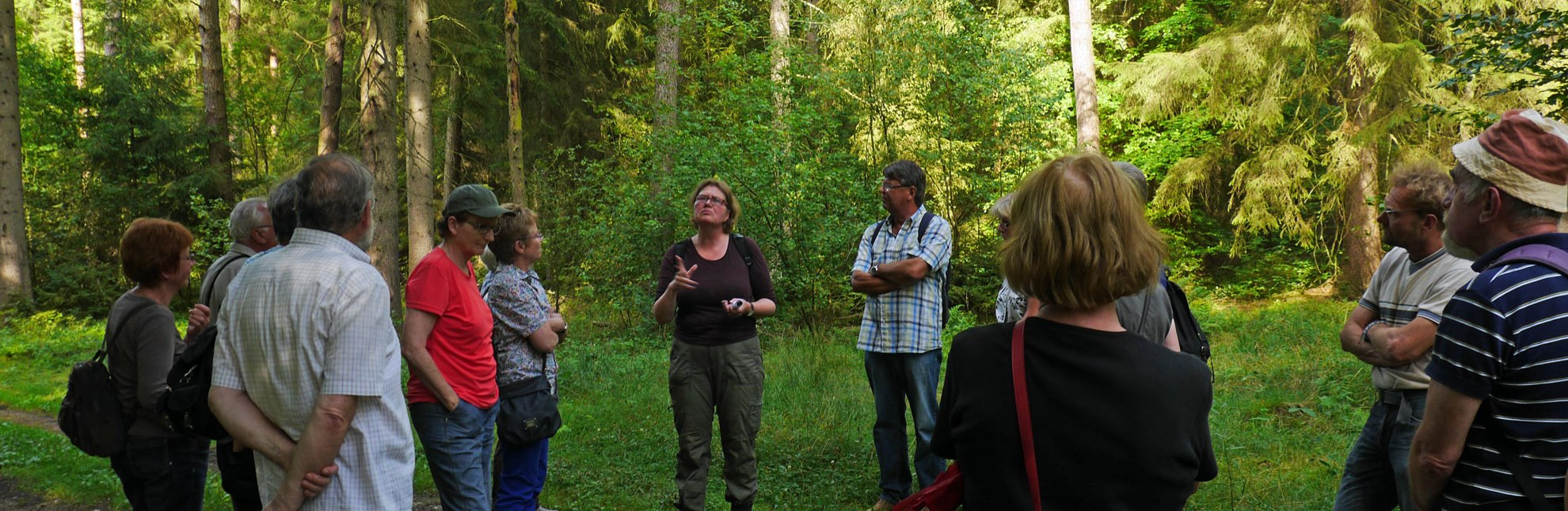Waldspaziergang für Gruppen mit Waldpädagogin Traute Tockhorn Krukow, WalderlebnisWelt, © WalderlebnisWelt