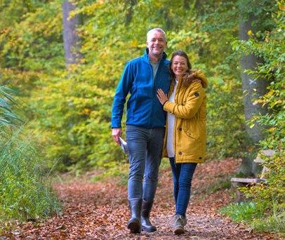 Am Lütauer See bei Mölln leuchtet der Herbst in allen Farben., © Alex K. Media / HLMS GmbH